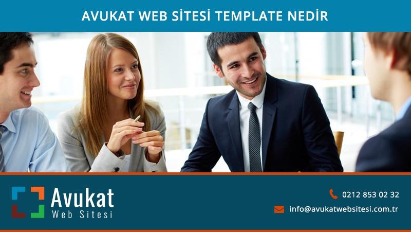avukat-web-sitesi-template-nedir