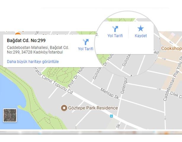harita ve navigasyon modülü